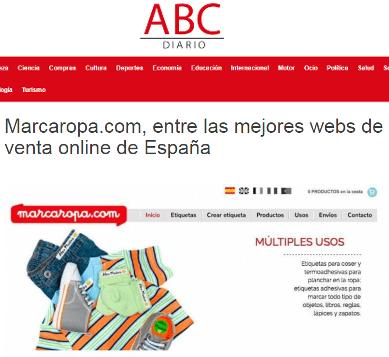 Nouvelles Marcaropa imagenListado abcdiario