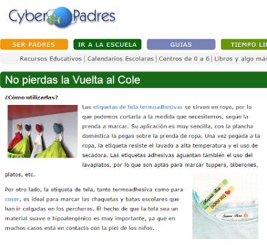 Noticias Marcaropa imagenListado cyberpadres