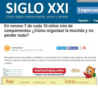 Noticias Marcaropa imagenListado diariosigloxxi