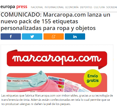 Marcaropa.com labels are indelible