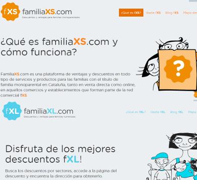 Marcaropa.com colabora con FamiliaXS y FamiliaXL para ayudar a familias con condiciones especiales