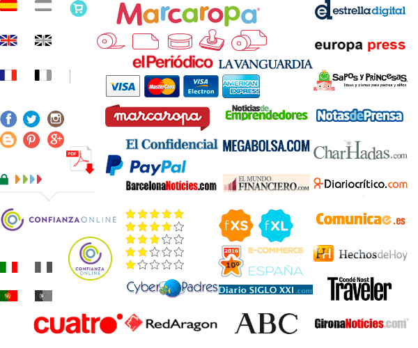 E-commerce marcaropa.com