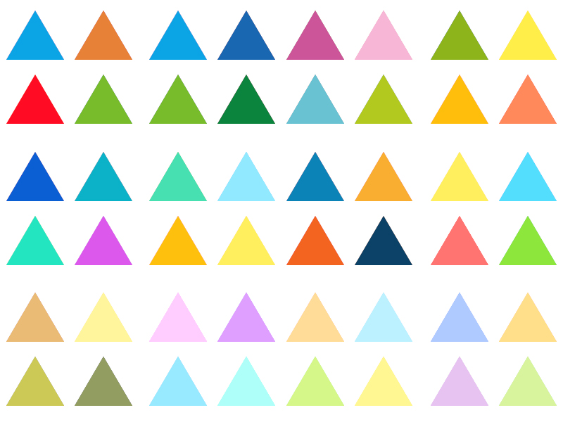 paleta_vinil_paret_triangles