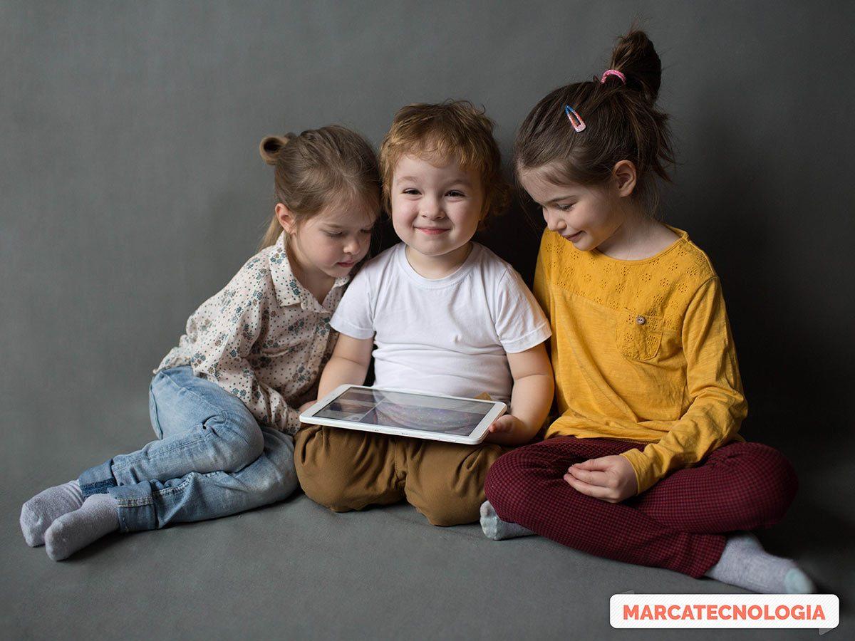Las nuevas tecnologías en niños