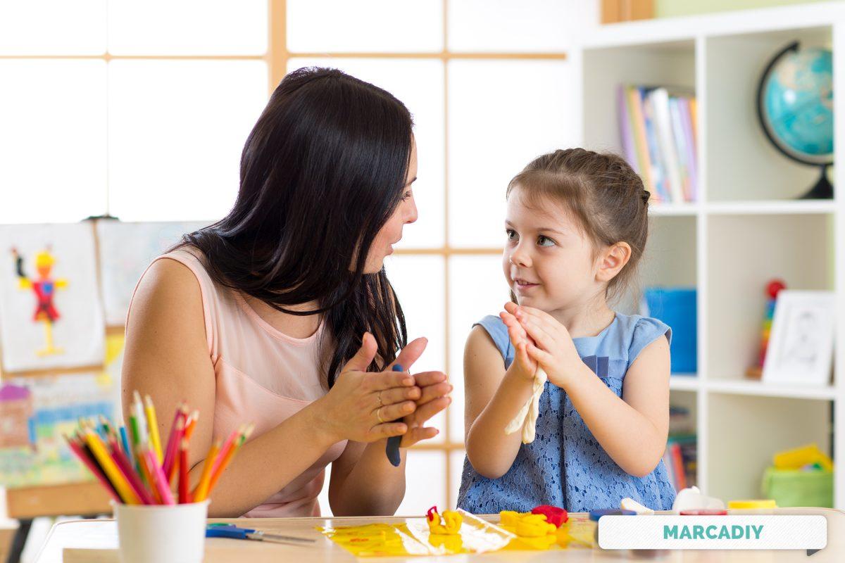 Manuallidades con niños