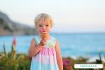 Niños y el verano