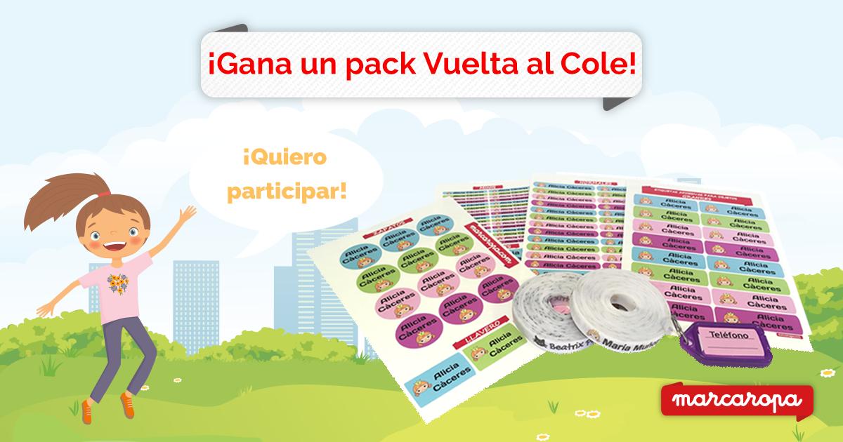 Pack Colegio: Pack Etiquetas para Ropa y Stickers