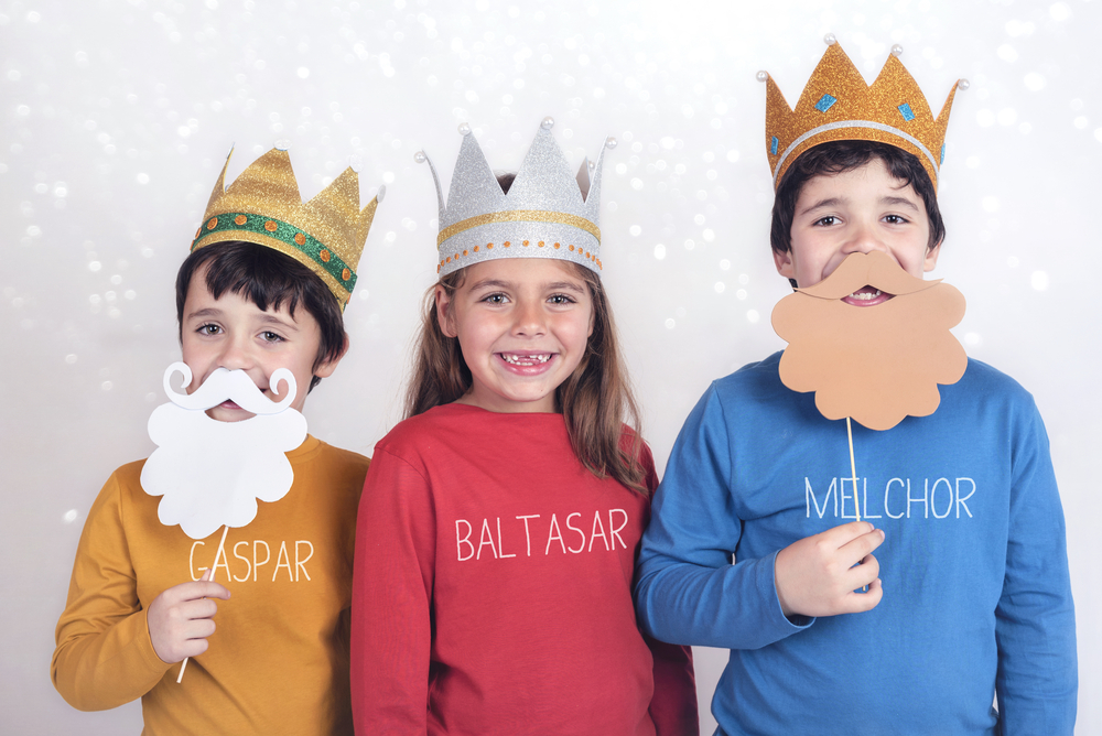 Etiquetas para la ropa: Los Reyes