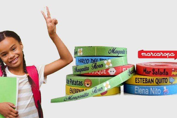 Etiquetas para ropa para el Colegio | Marcaropa