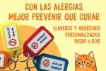 Llaveros personalizados y Pulseras identificativas, para Alergias de Marcaropa