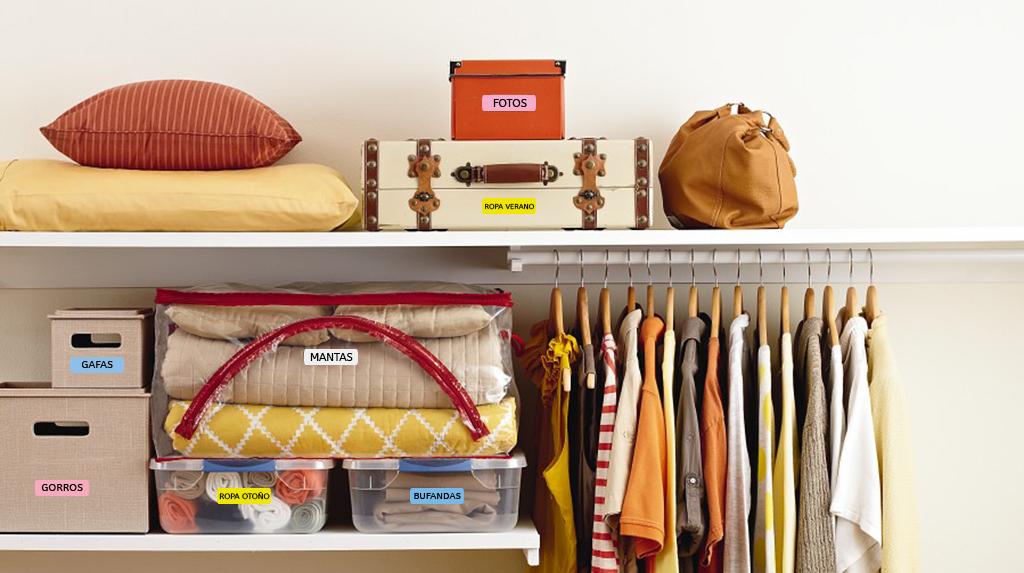 C mo ordenar tu armario seg n el m todo japon s blog - Como ordenar tu armario ...